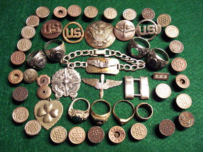 Metal Detecting Finds At Amarillo Air Base